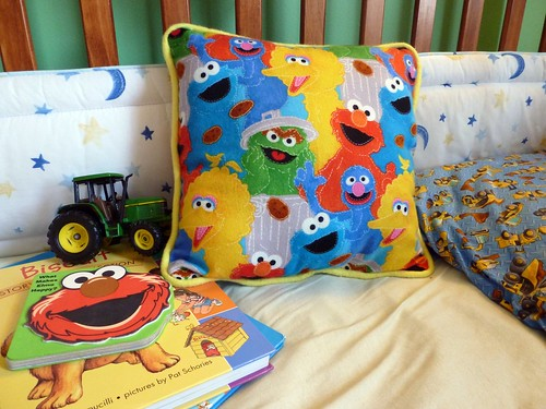 sesame street pillow