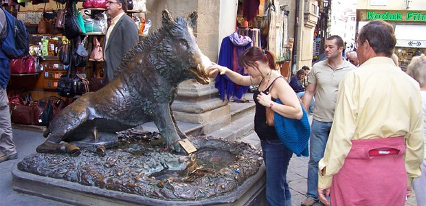 Porcellino in Florence