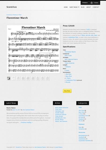 ScoreVivo product page
