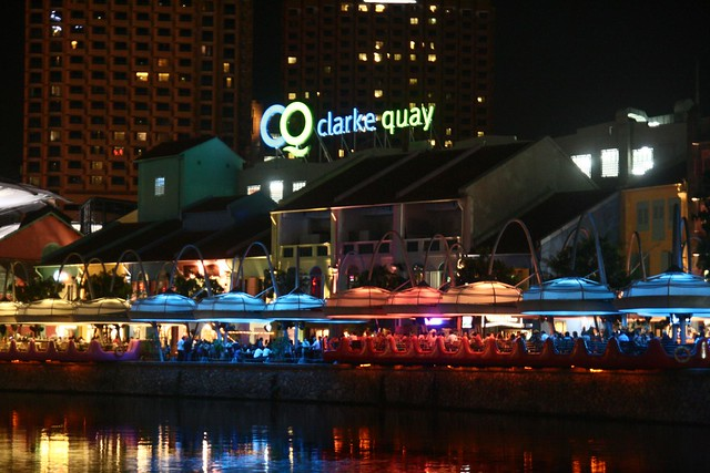 Short Walk At Clarke Quay, Singapore