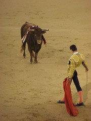 corrida de toros (danielnanreik) Tags: world madrid blue sleeping white mountain black color roma tree castle church beauty architecture river de real spain catholic view cathedral roman stadium soccer military south muslim disney seville andalucia aqueduct spanish toledo seats segovia alhambra granada universidad alcazar vista moor academy futbol fortress ronaldo alcala bernabeau medievial hernares