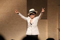 Yoko Ono in Hiroshima