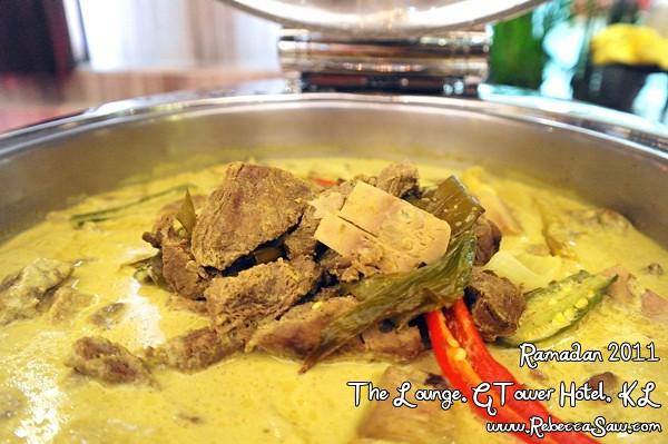 Ramadan buffet - GTower Hotel KL-42
