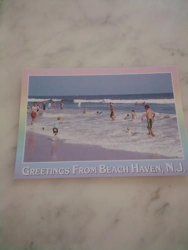 Lynda's postcard