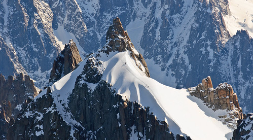From Chamonix to Courmayer - Aiguille du Midi 33