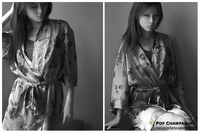 DIY Kimono before