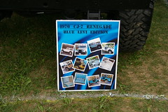 1976 Jeep CJ-7 Renegade Blue Levi's Edition (geepstir) Tags: pictures photos photographs captures bantamjeep bantamjeepfestival bantamjeepheritagefestival