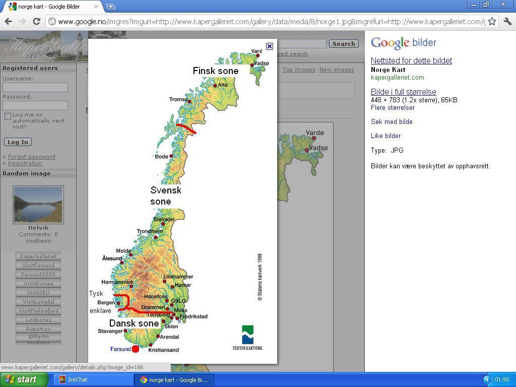 b91933cd johncons: Tjueørten: Norge blir delt inn i forskjellige ...