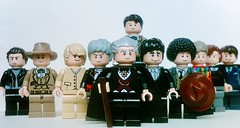 Doctor Who 1-11 (Studs-a-million) Tags: lego doctorwho tombaker peterdavison colinbaker mattsmith sylvestermccoy davidtennant christophereccleston jonpertwee paulmcgann williamhartnell particktroughton