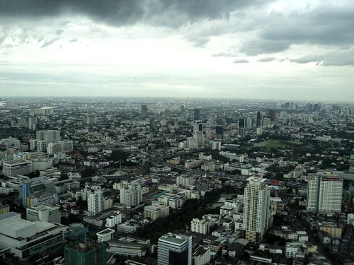 Bangkok View from 77th Floor