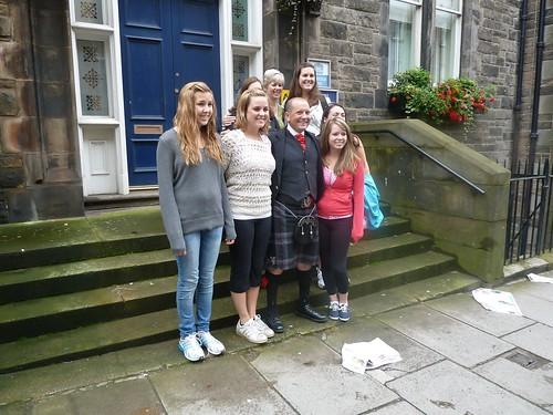 Tour Group at Edinburgh