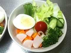 朝食サラダ(2011/8/15)