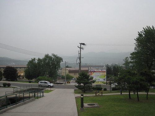 Picture from Camp Stanley, South Korea