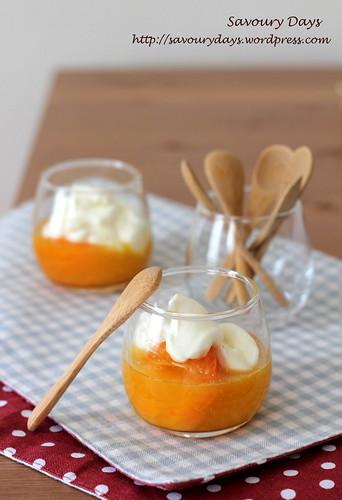 Apricot compote 1
