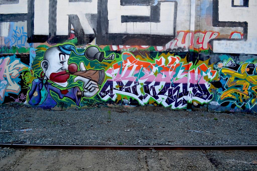 STYLE, KRASH 2, Street Art, Graffiti, BSK, TDK, Oakland
