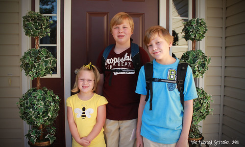 Ian Jake Ellie New School Year 2011