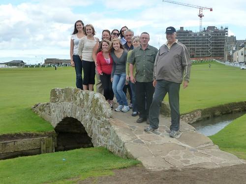 Tour Group at Swilken Bridge