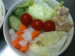 朝食サラダ(2011/8/17)