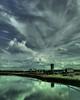 Big Sky Over The CDC (gimmeocean) Tags: apple newjersey day cloudy nj commute bigsky newark cdc iphone njt newjerseytransit northeastcorridor iphone4 bestviewedatoriginalsize iphoneography