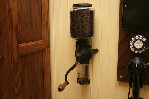 1915 Craftsman Bungalow Kitchen Wall Mount Coffee Grinder