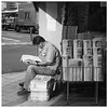 © Stefan Höchst (It's Stefan) Tags: blackandwhite bw man guy blancoynegro monochrome japan paper lesen reading tokyo newspaper sitting break noiretblanc ueno tl journal kiosk mann pause biancoenero zeitung bookstall gazette 黑与白 zeitungsstand 黑與白 siyahvebeyaz schwazweis 黒と白 ©stefanhöchst