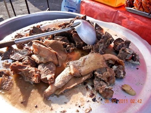 DSCN2305 Perut ,daging lembu ,Ramadhan bazaar , Ipoh ,Malaysia- 2011