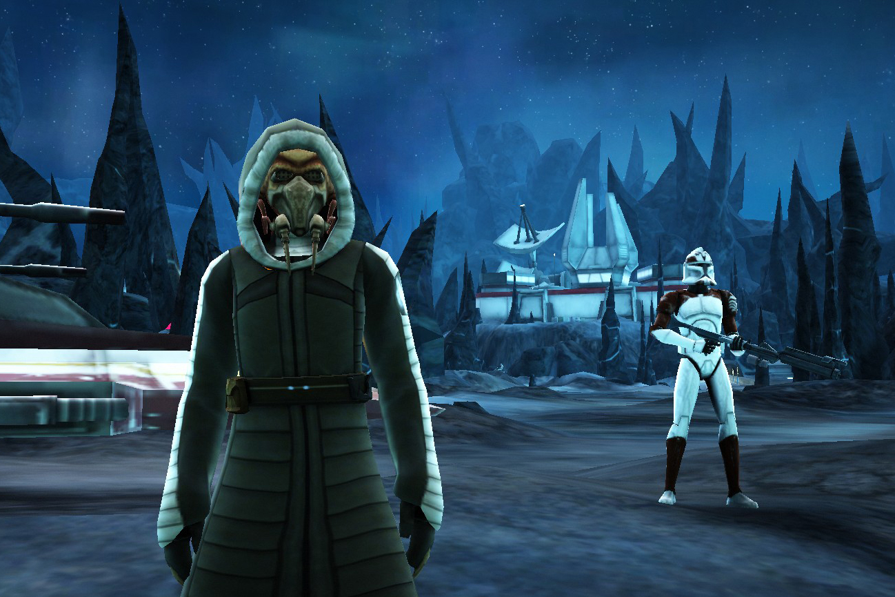 Plo Koon and Commander Wolffe