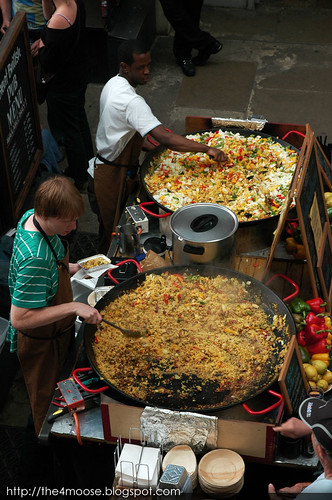 London - Covent Garden Paella