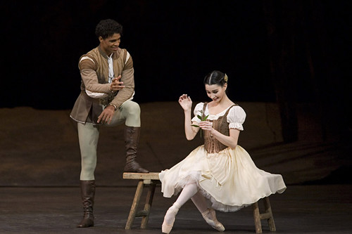 "Tamara Rojo as Giselle and Carlos Acosta as Albrecht in Frederick Ashton's  Giselle. The Royal Ballet 2006. <a href=""http://www.roh.org.uk"" rel=""nofollow"">www.roh.org.uk</a>"