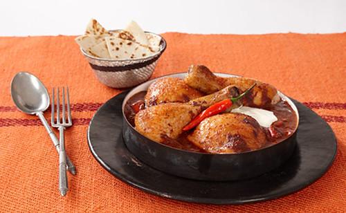 Genuss-Tipp zum Wochenende: Hühnchen mit Schoko-Nuss-Chili-Soße