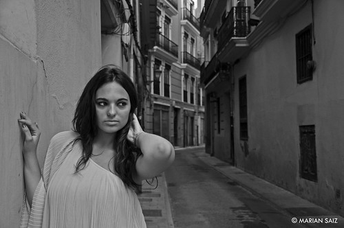 Perdida en el barrio del Carmen by Marian Saiz