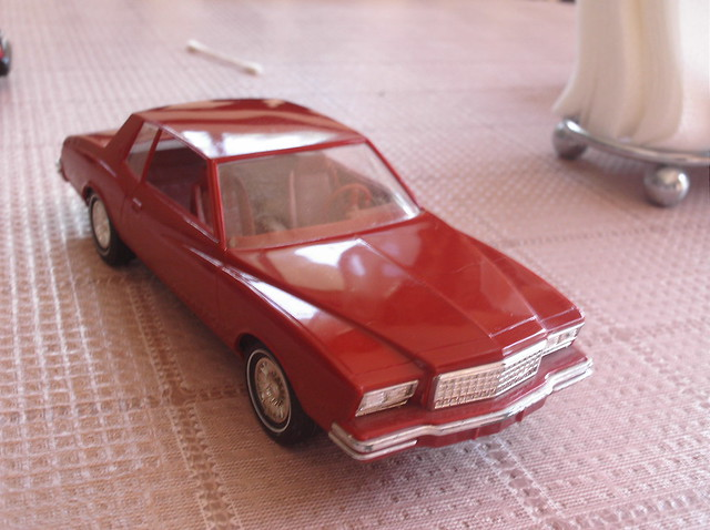 car promo chevy carlo monte 80 1980