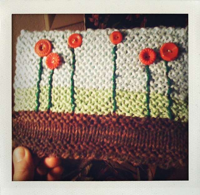 Knitted Postcard #11