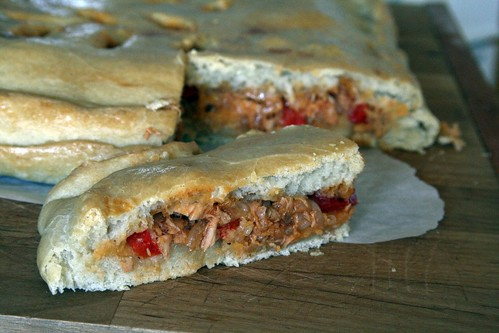 Tuna and Pepper Empanada