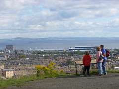 Tourists at Calton Hill (DJN...) Tags: scotland edinburgh scottish august lothians lothian 2011 embra