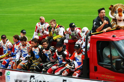 Speedway Participants at Glasgow