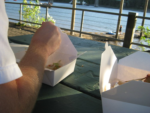 Take out and River Date