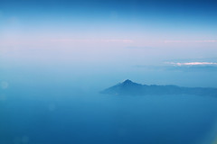 higher than high (C h l o e .) Tags: blue summer vacation sky mountain holiday mountains colour clouds plane canon turkey high colours flight dream calming clear dreamy higher height flew 500d