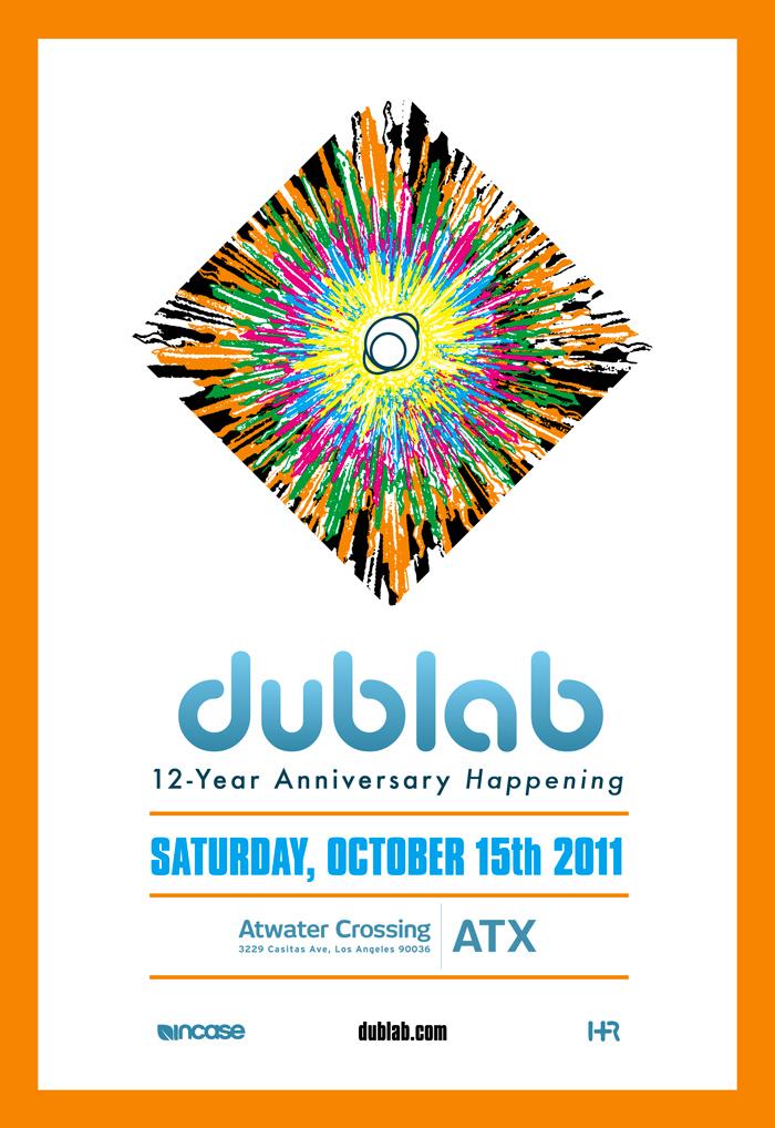 DUBLAB 12-YEAR ANNIVERSARY HAPPENING