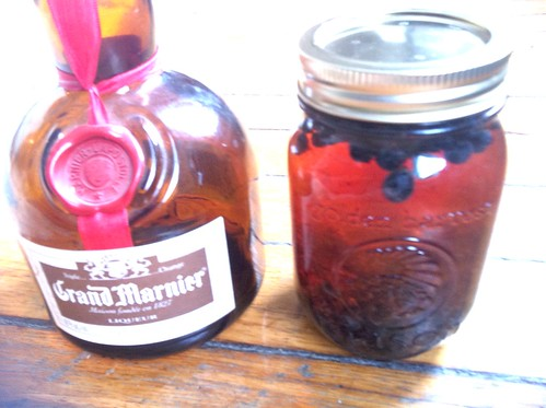 Grand Marnier Infused with Blueberries   and Jam Preserving Recipes Grand Marnier Blueberry