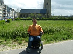 S6300275 (ampulove.net) Tags: above alex belgium wheelchair knee left amputee legless mariakerke
