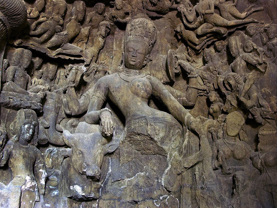 Скальные храмы Индии