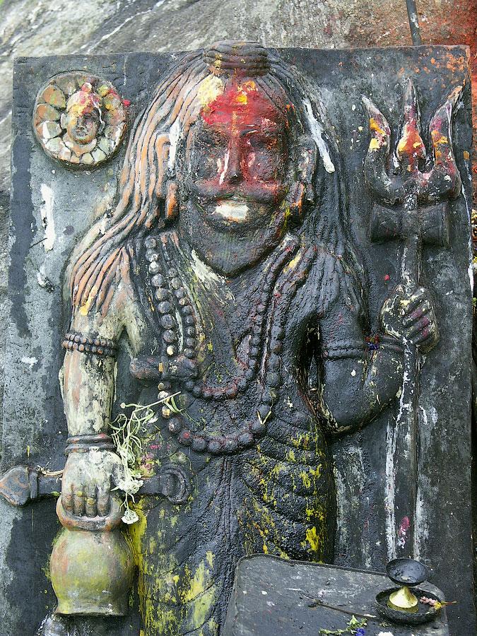 Мурти Шивы. Кедарнатх (храм Кедар) © Kartzon Dream - авторские путешествия, авторские туры в Индию, тревел фото, тревел видео, фототуры