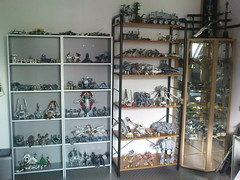 New Lego Star Wars layout (in progress) (Jeroen_K) Tags: starwars lego collection 2011