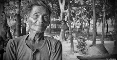 Essence of Pride (greeneighteen) Tags: portrait people blackandwhite asia rice faces emotion philippines fields farmer dailylife plains rurallife bukid magsasaka