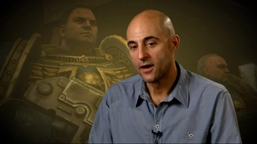 Mark Strong Talks About Warhammer 40000: Space Marine