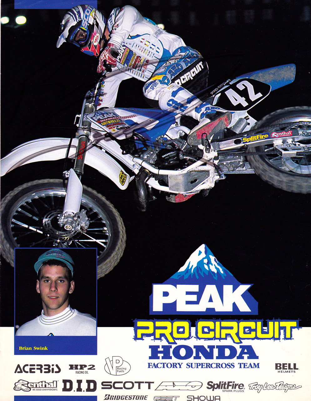 My Favorite Pics Of The Swinkster Brian Swink Moto