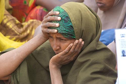 Woman in Dadaab camp