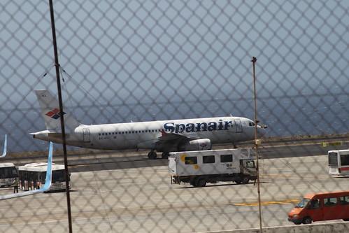 Spanair A320 EC-ICL @ Tenerife Sur Airport