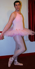 Chris Millett - Ballerina en Pointe (ChrisMillett11) Tags: pink chris ballet ballerina shoes tights pointe tutu millett